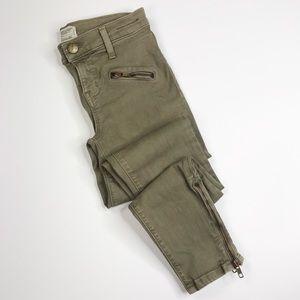 Current/Elliott Soho Zip Stiletto Jeans Size 25